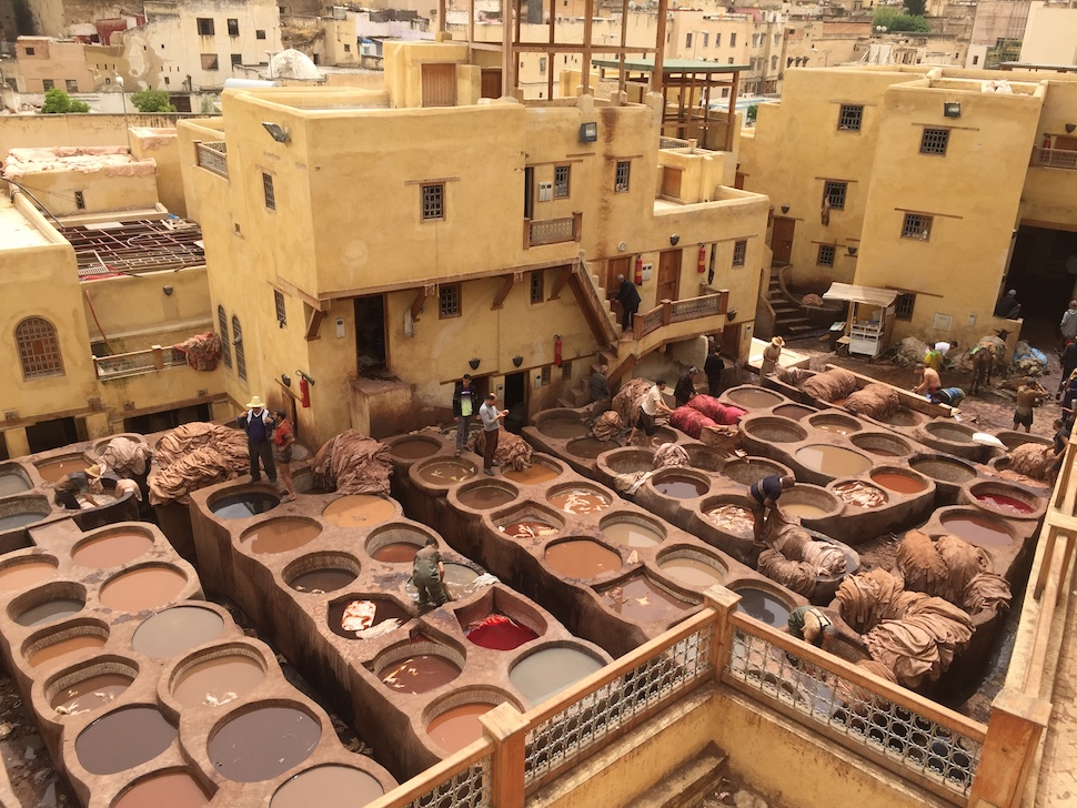 Morocco travel guide | Chouara tannery