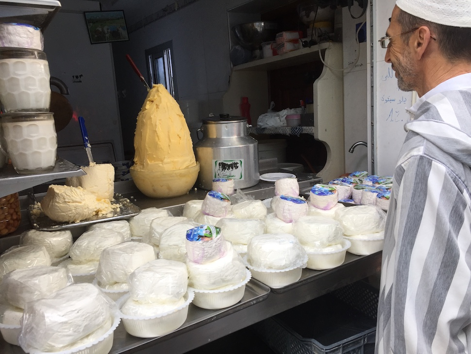 Morocco travel guide | goat cheese
