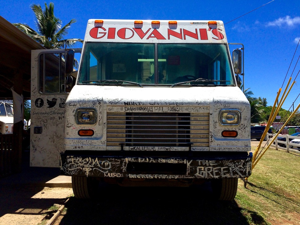 Giovanni's Shrimp Truck | Oahu, Hawaii